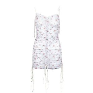 FOR LOVE AND LEMONS PURE LINDA RUCHED COVER UP